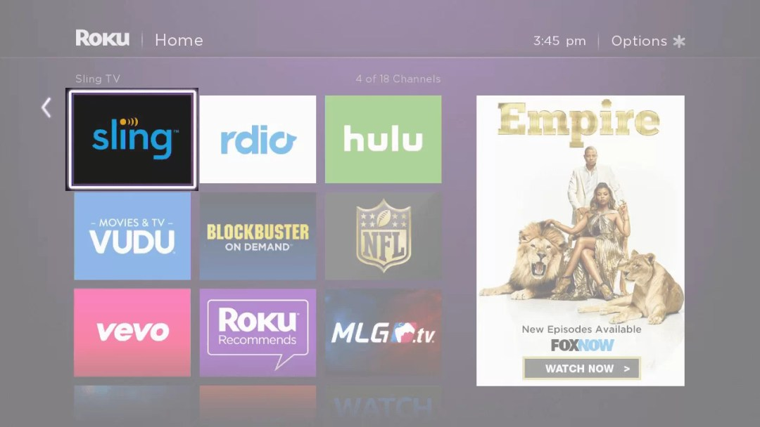 Access Sling TV