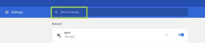 Change Screen Resolution on Chromebook