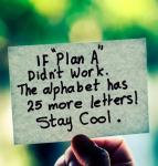 If Plan A Didn't Work