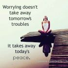 Worrying Doesn't Take Away...