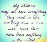 My Children May Not….
