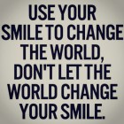 Use Your Smile To….