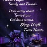 Don't Worry About Tomorrow….