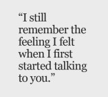 I Still Remember The Feeling...