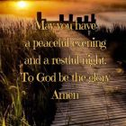 May You Have A Peaceful...