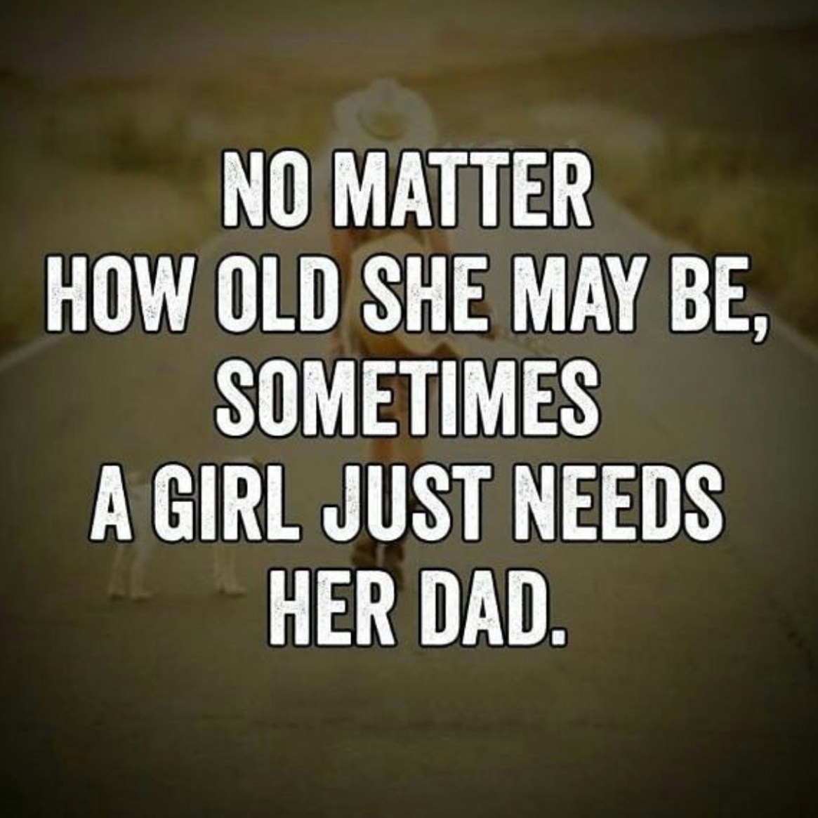 No Matter How Old She May Be