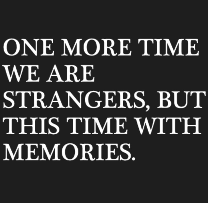 One More Time We Are