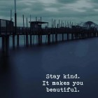 Stay Kind It Makes...