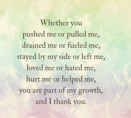 Whether You Pushed Me...