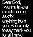 Dear God, I Wanna...