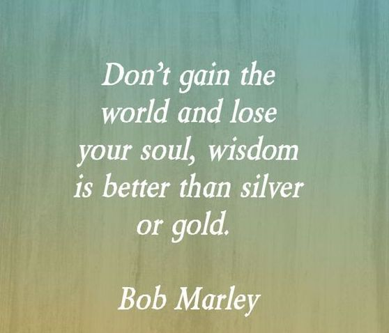 Don't Gain The World...