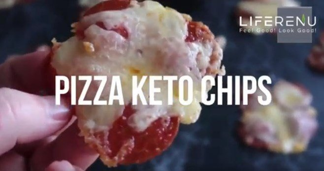 Keto Pizza Chips