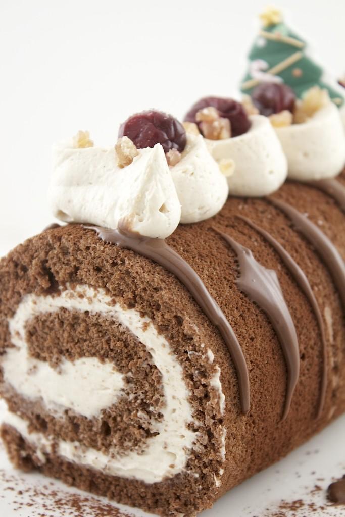 chocolate chestnut bûche IV
