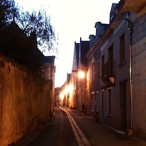 Chinon evening