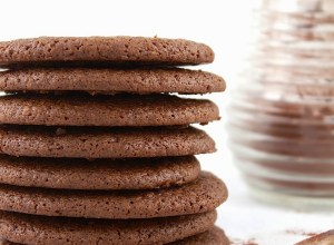 Cocoa Molasses Chew Cookies II