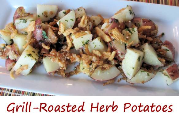 Grill-Roasted Herb Potatoes