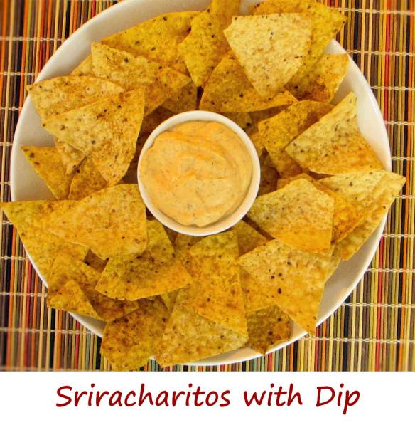 Sriracharitos with Dip