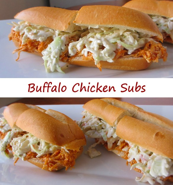 Buffalo Chicken Subs