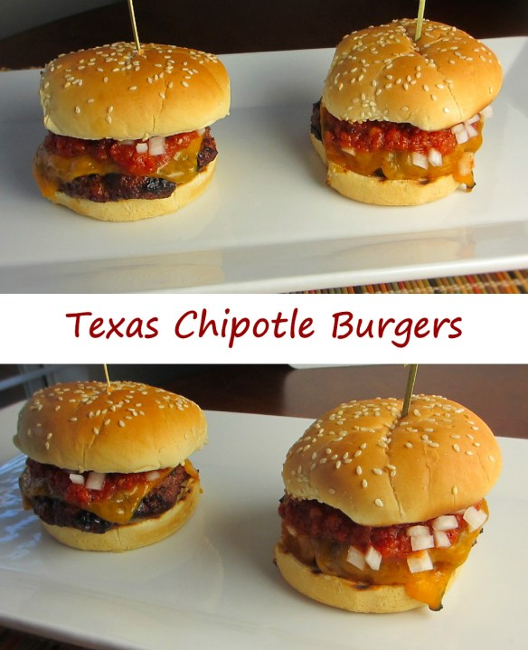 Texas Chipotle Burgers