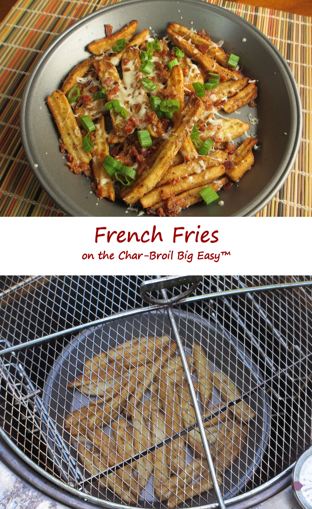 478c948bb1e French Fries on the Char-Broil Big Easy - Life s A TomatoLife s A Tomato
