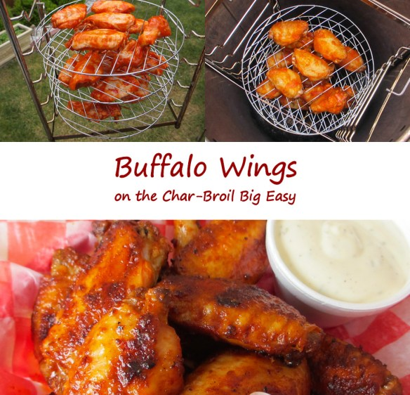 Buffalo Wings on the Char-Broil Big Easy