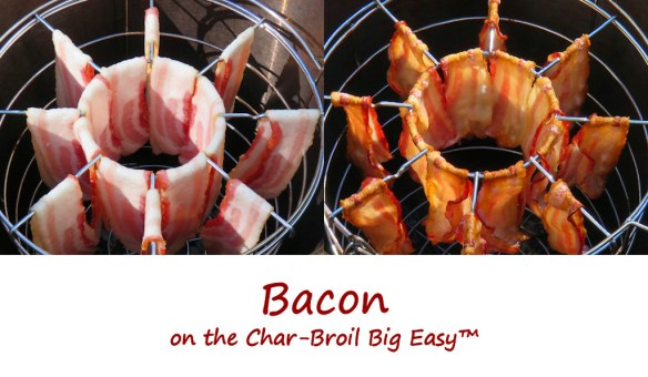 Bacon on the Char-Broil Big Easy