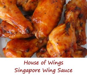 House of Wings Singapore Wing Sauce