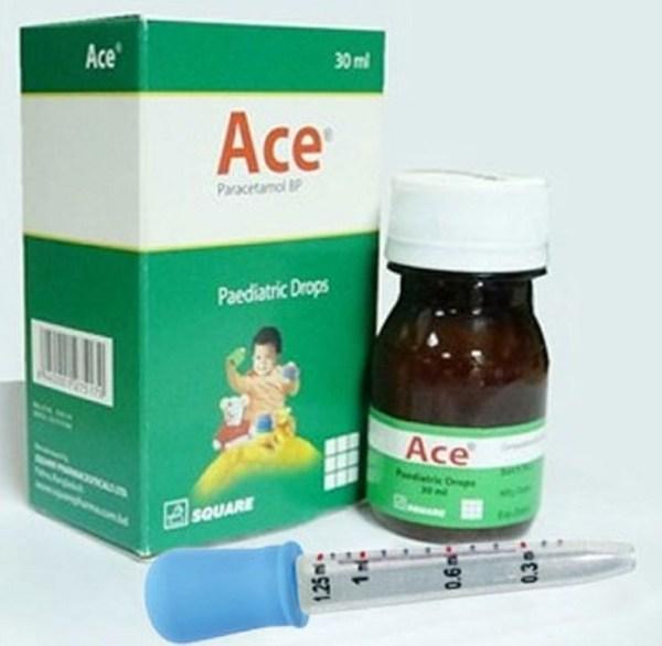 Ace Pediatric Drops 30 ml (Square Pharmaceuticals Ltd)