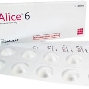 Alice6 mgTablet (Square Pharmaceuticals Ltd)