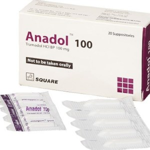 Anadol Suppository 100MG (Square Pharmaceuticals Ltd)