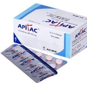 Apitac-100 mg tablet-ACME