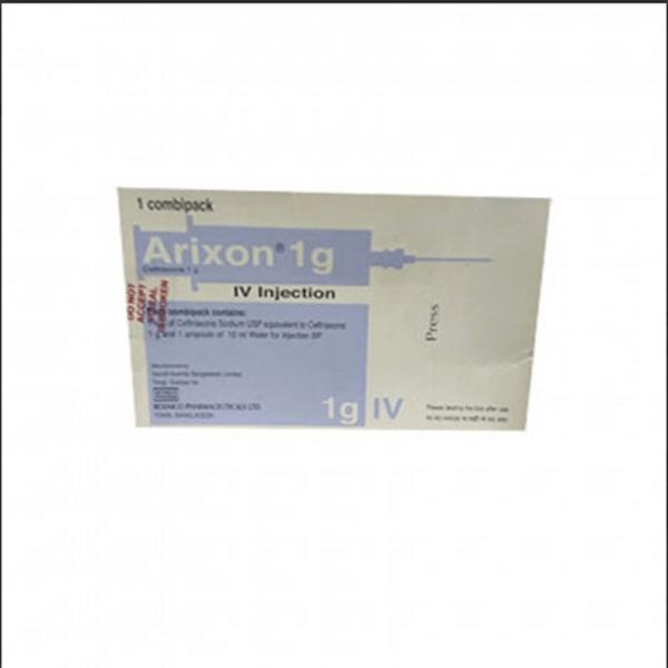 Arixon- 1 gm vial iv injection Beximco Pharmaceuticals Ltd