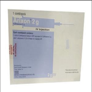 Arixon- 2 gm vial iv injection Beximco Pharmaceuticals Ltd
