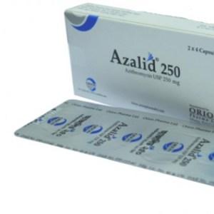 Azalid-250 mg Capsule(Orion pharma)