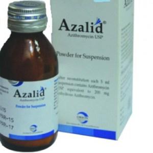 Azalid-Powder for Suspension (35 ml) (Orion pharma)