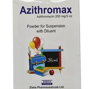 Azithromax Powder for Suspension 35 ml (Ziska Pharmaceuticals Ltd)