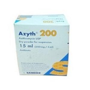 Azyth Powder for Suspension 15 ml SANDOZ SANDOZ (A Novartis Division)