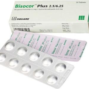 BISOCOR-PLUS-2.5 mg+6.25 mg-square