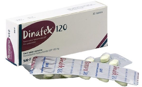 DinafexTablet 120 mg (Eskayef Bangladesh Ltd)