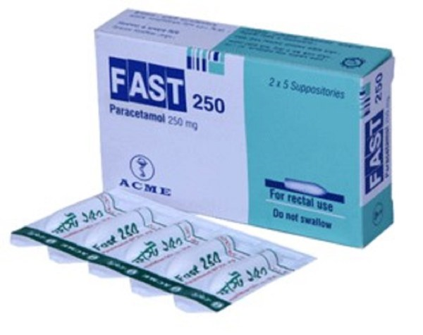 FastSuppository 250 mg (ACME Laboratories Ltd)