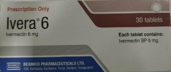 Ivera 6 mg (Beximco Pharmaceuticals Ltd)
