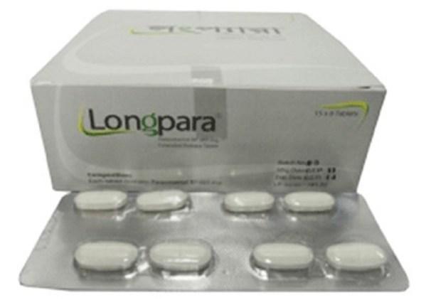 Longpara 665 mg Tablet (Extended Release)(Ibn-Sina Pharmaceuticals Ltd)