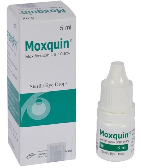 MoxquinOpthalmic Solution 5% - 5ml (Incepta Pharmaceuticals Ltd)