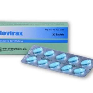 Novirax tablet 200mg - Drug International Ltd