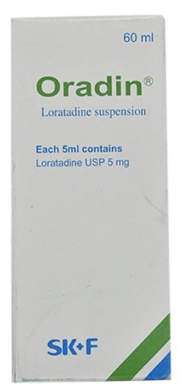 Oradin Oral Suspension 60 ml (Eskayef Bangladesh Ltd)