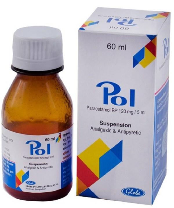Pol Oral Suspension 60 ml bottle(Globe Pharmaceuticals Ltd)