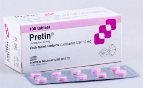 Pretin 10mg Tablet (Beximco Pharmaceuticals Ltd)