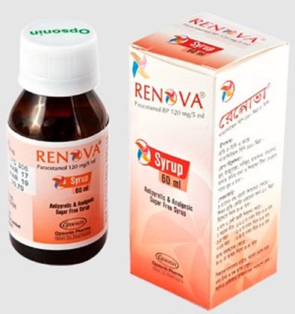 Renova Syrup 60 ml (Opsonin Pharma Ltd)