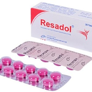 Resadol 325 mg+37.5 mg tablet (Incepta Pharmaceuticals Ltd)
