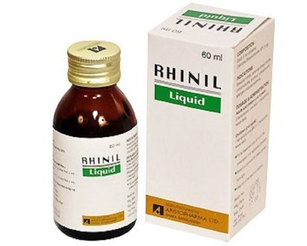 Rhinil Syrup 5mg 5ml - 60 ml (Aristopharma Ltd)